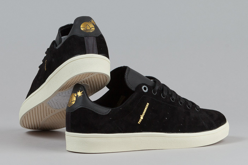 info for fddbe 335ba Mini Mustaches for The Hundreds x adidas Stan Smith