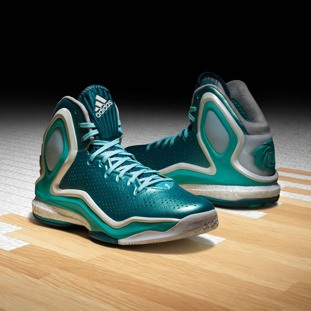 d3afd601546 Lake Michigan Inspires New adidas D Rose 5 Boost Colorway