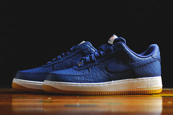 sports shoes 1d366 fe329 Croc Uppers and Gum Bottoms For These Nike Air Force 1s   Sole Collector