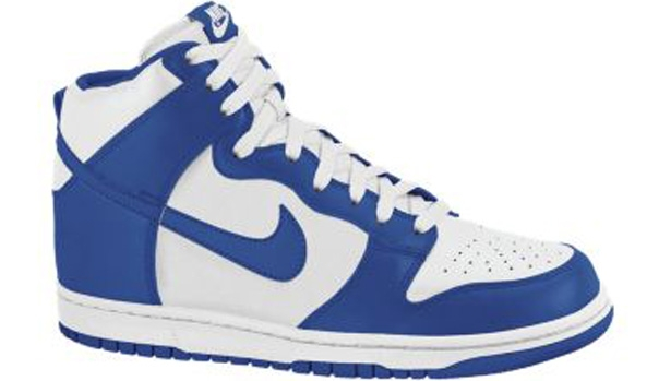 Nike Dunk High Sail/Old Royal