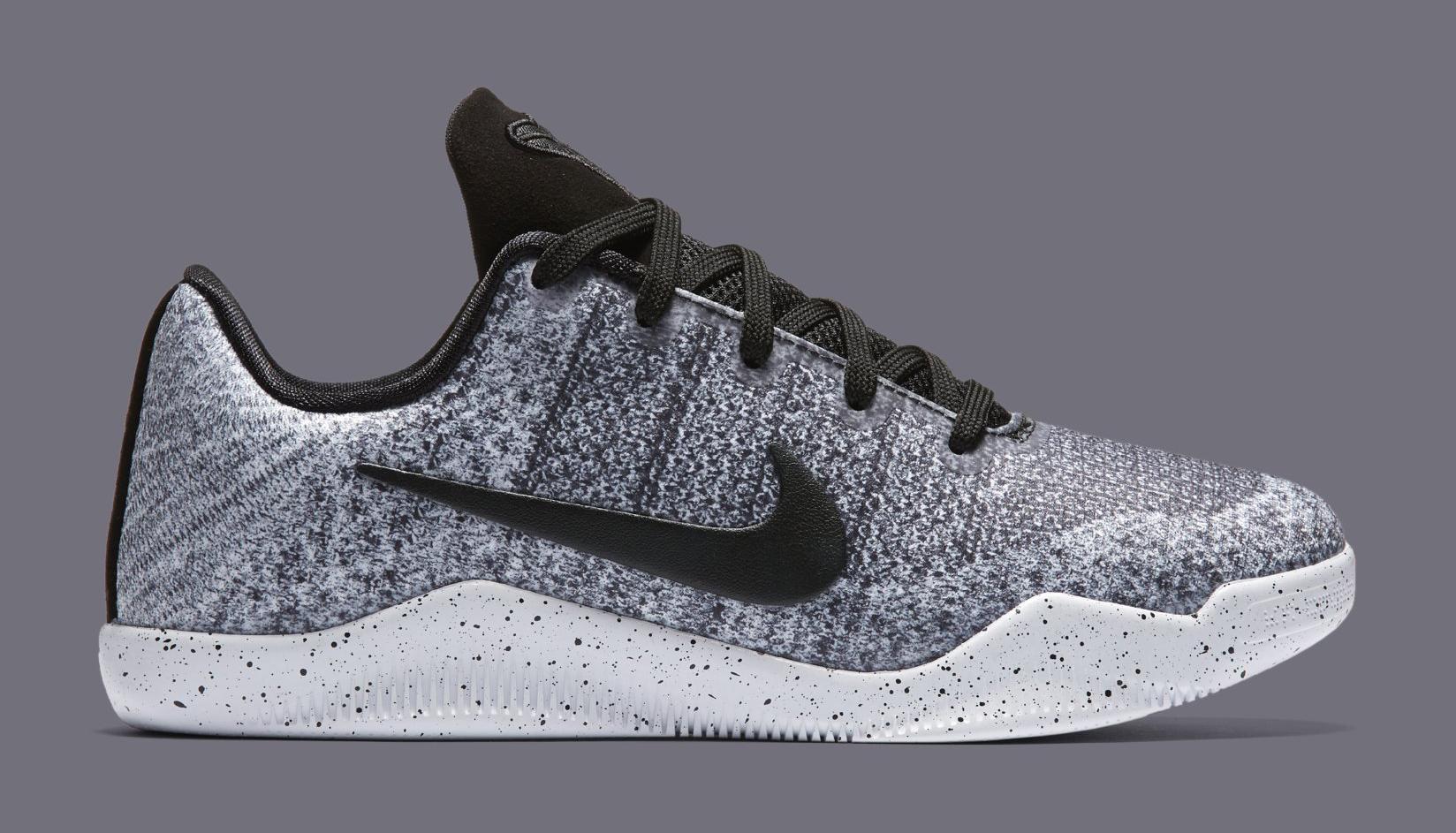low priced ad725 11d8d ... Black Flyknit Online Nike Kobe 11 Oreo Kids 822945-100 Profile ...