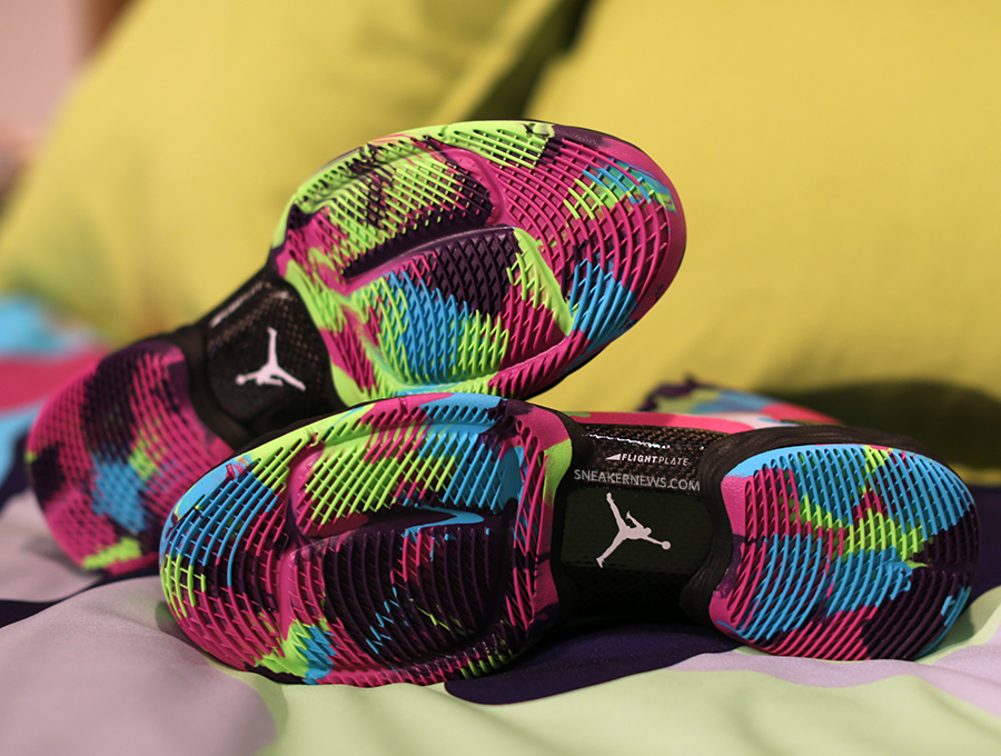 Air Jordan XX8 SE Bel Air outsole
