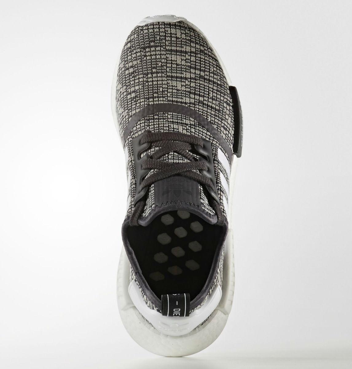 d192f8d87cf12 Adidas NMD R1 Glitch Women s Midnight Grey Top BY3035