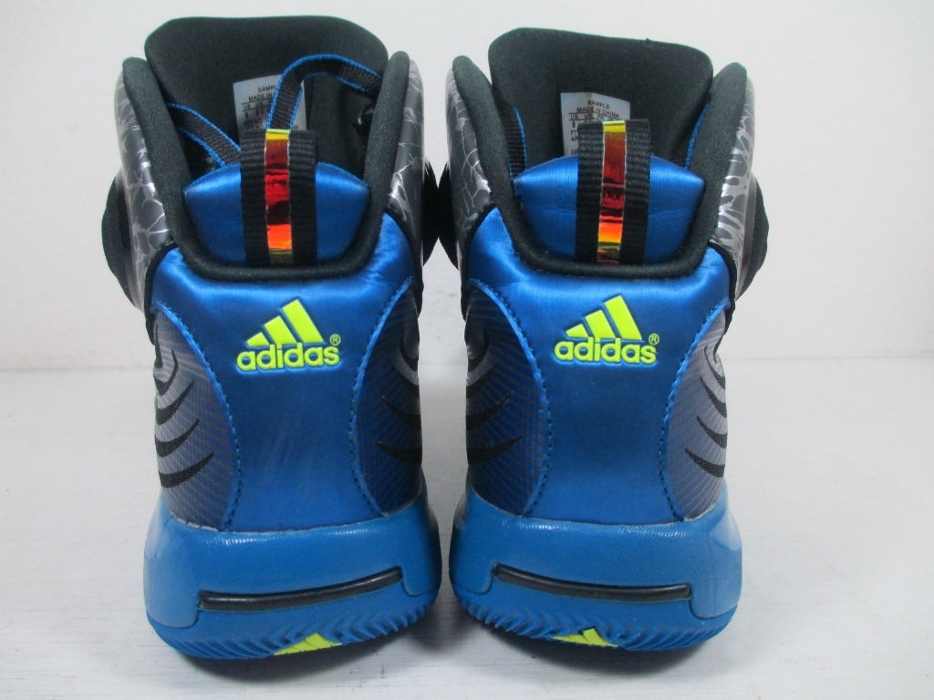 adidas D Howard 4 - Grey/Blue Sample (8)