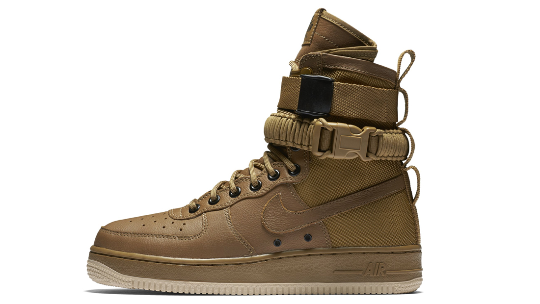 Nike Special Field Air Force 1 Golden Beige Sole Collector Release Date Roundup