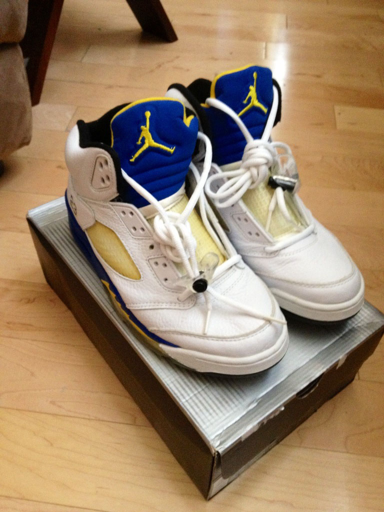 Pickups of the Week // Air Jordan V 5 Laney by solestacker