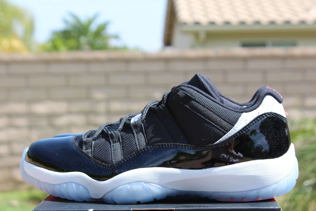 3eb6e04b7fcdb4 Detailed   On-Foot Photos of the  Infrared  Air Jordan 11 Low