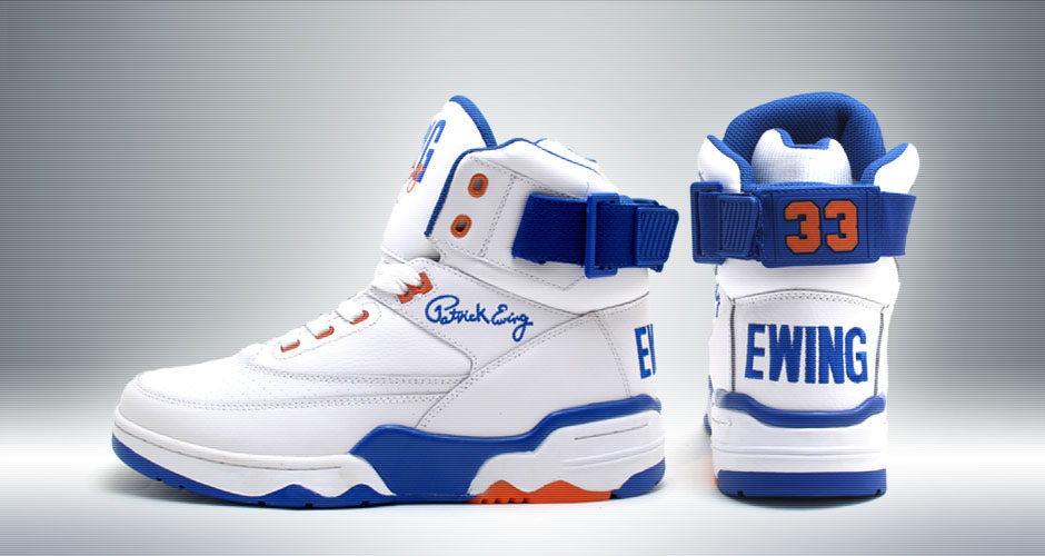 Ewing Athletics 33 Hi Retro Knicks White