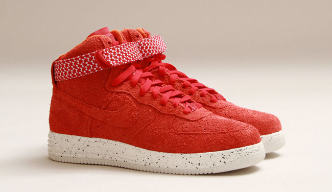 a1d35f42448d ... cheapest lunar force 1 hi sp in university red. the latest  collaboration from nike and