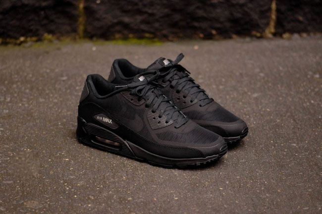 nike air max 90 reflective nero