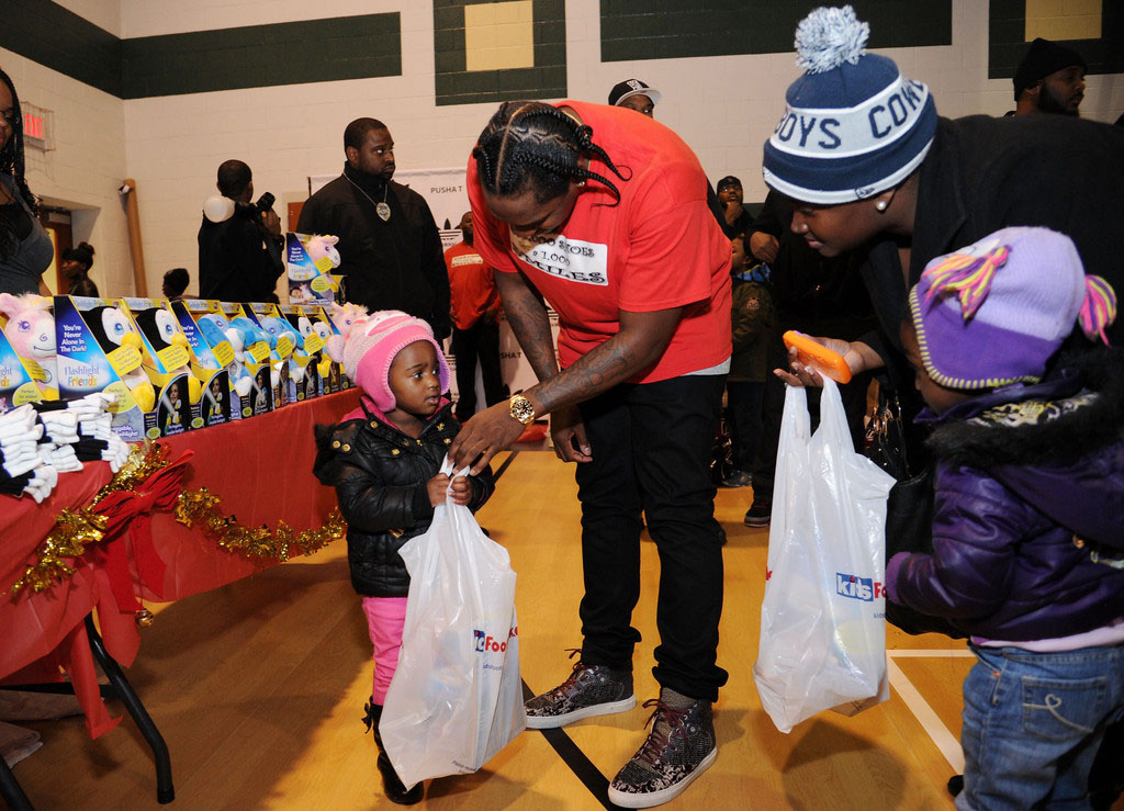 adidas Sponsors Pusha T 1000 Shoes for a 1000 Smiles Event (17)