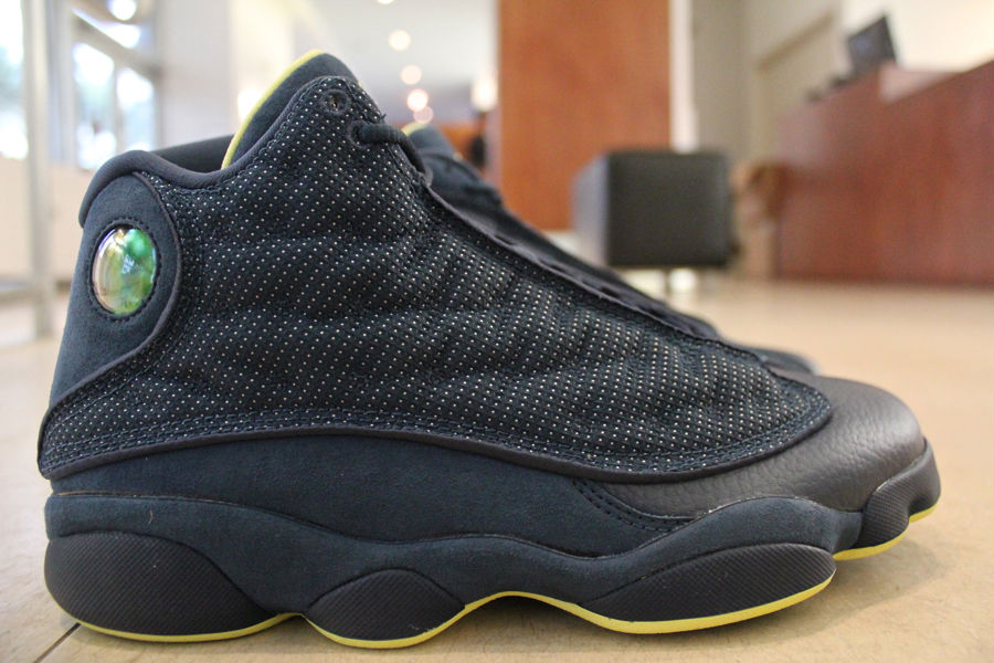 2e84f118b03 Air Jordan XIII 13 Squadron Blue Electric Yellow 414571-405 (1)