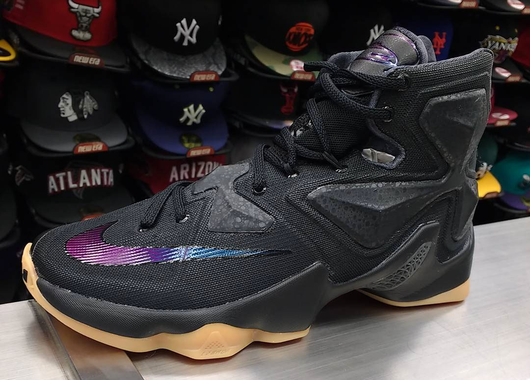 new york a288e db420 Release Date: Nike LeBron 13 'Black Lion' | Sole Collector