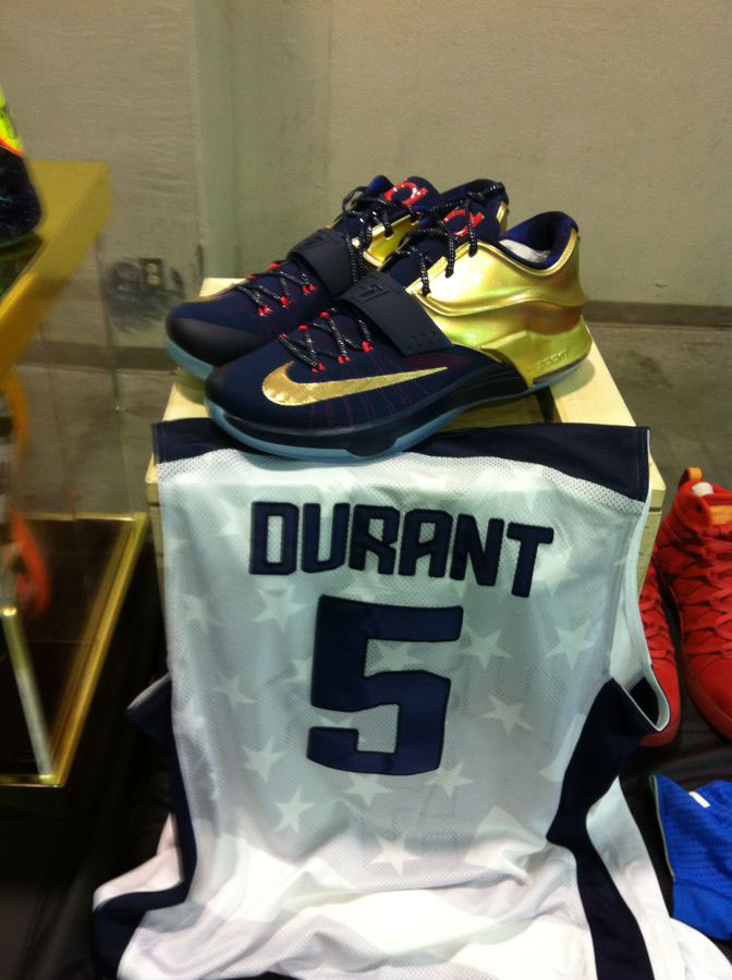 Randy Williams Displays Rare Nike KD Shoes (6)