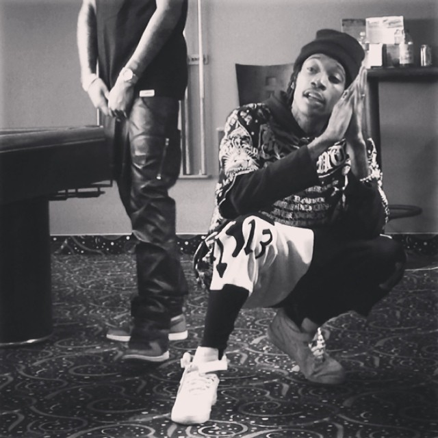 Wiz Khalifa in the Nike Air Force 1 Low | Celebrity sneakers