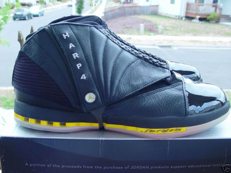 Air Jordan XVI 16 Ron Harper Los Angeles Lakers PE (1)