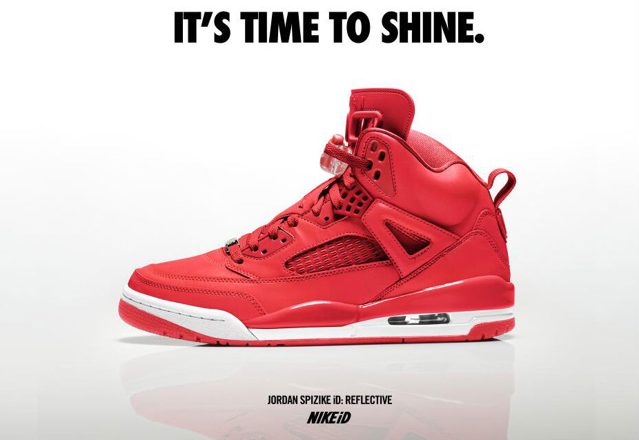 Jordan Spizike Reflective Options on NIKEiD  c67e5e958