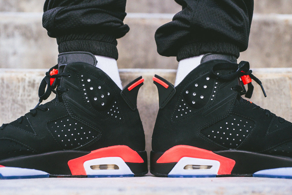 online store 912ae 38e0c Air Jordan 6 Retro Black Infrared 23 for Black Friday