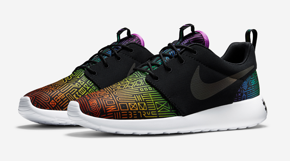 sale retailer a2eb4 25d9d Nike Celebrates LGBT Community With Rainbow Sneakers
