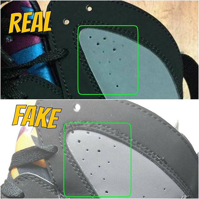 9ed7e590ff366a How To Tell If Your  Bordeaux  Air Jordan 7s Are Real or Fake