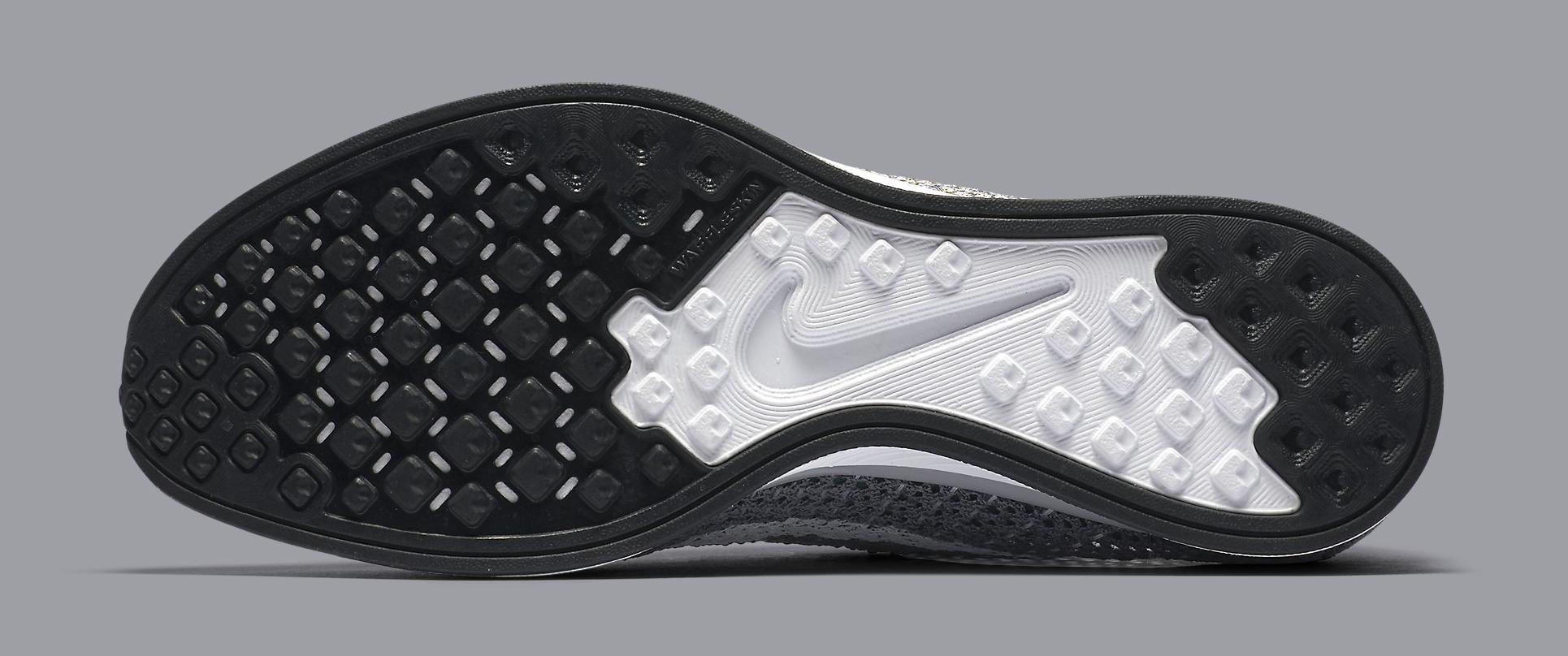Nike Flyknit Racer Grey 862713-002 Sole
