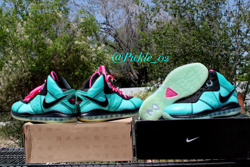 Spotlight // Pickups of the Week 8.4.13 - Nike LeBron 8 South Beach by Pickle