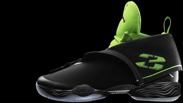Air Jordan XX8 Black/White-Electric Green