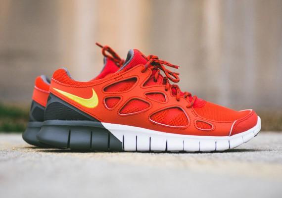 Nike Free Run 2.0 'All White'