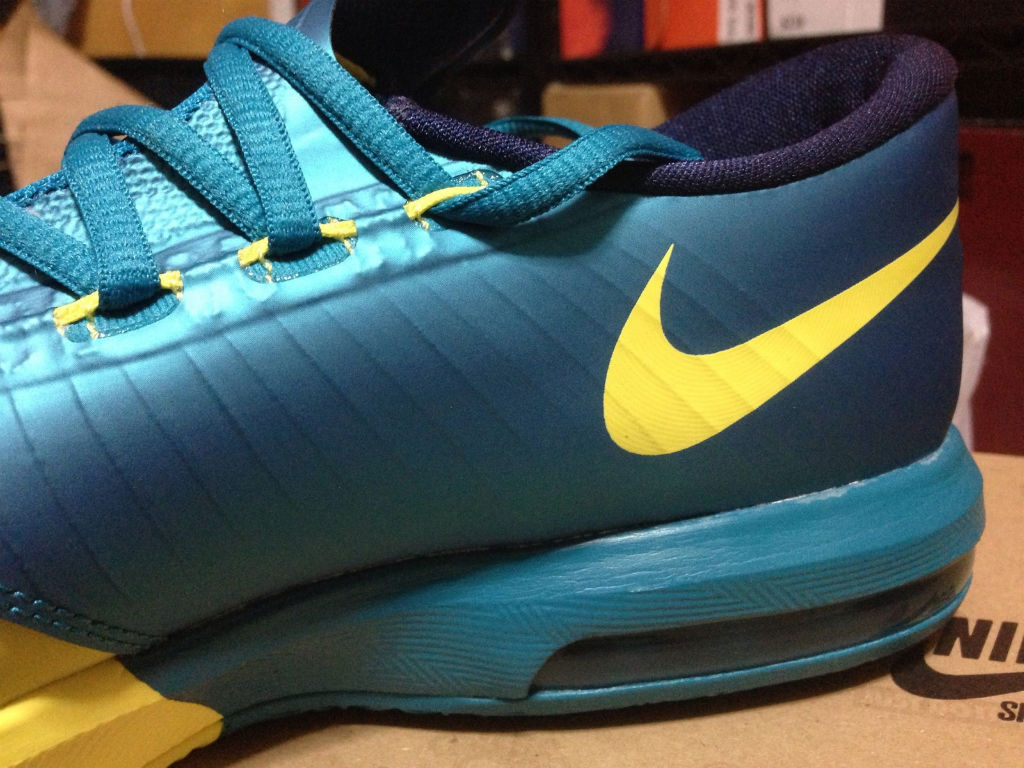 Nike Zoom KD 6 Yellow Teal Navy