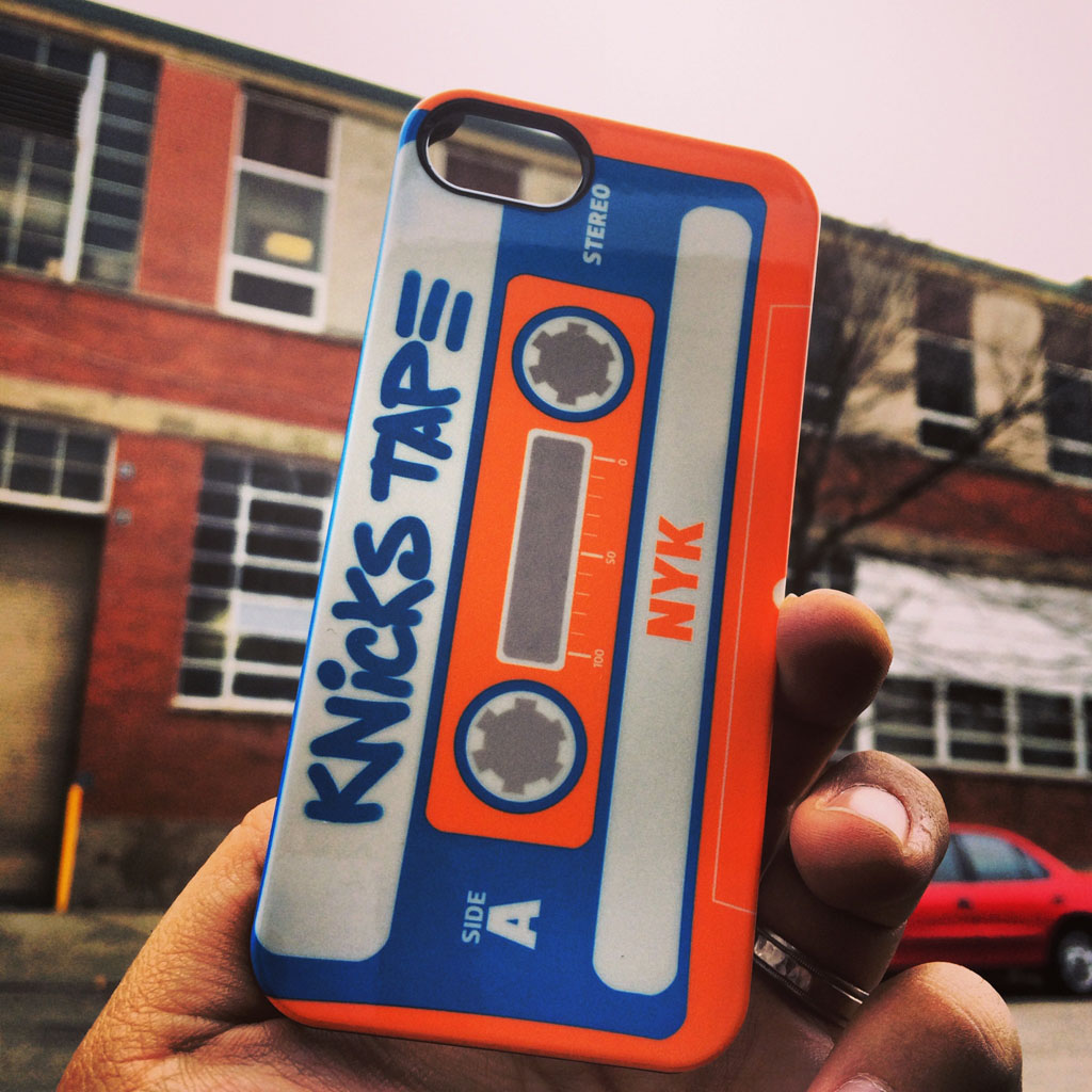 SneakerSt x Uncommon Presents 'Knicks Tape' Phone Case (4)