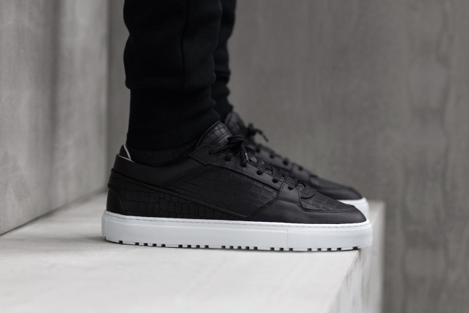 These Croc-Embossed Leather Sneakers from ETQ Amsterdam Are Handmade in  Portugal 486a6f3b445c