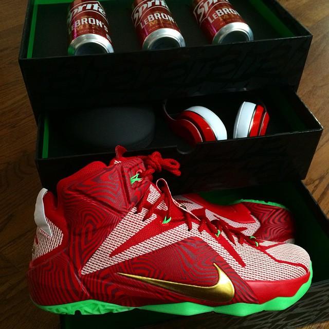 Nike LeBron XII 12 Sprite LeBrons Mix Pack 5