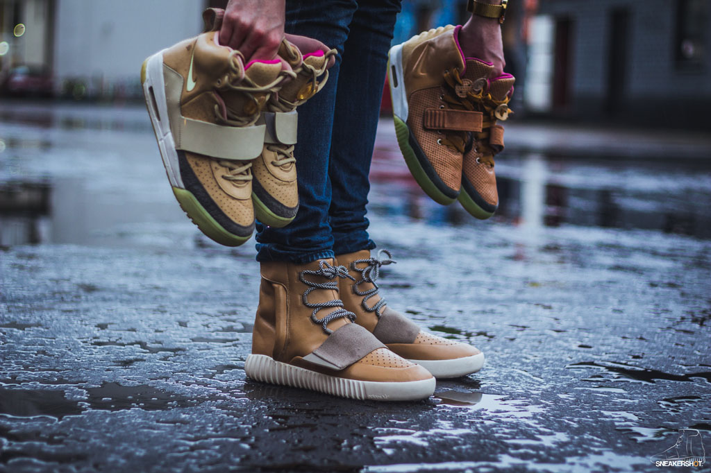 5e15576929c What the adidas Yeezy 750 Boost Looks Like in  Tan