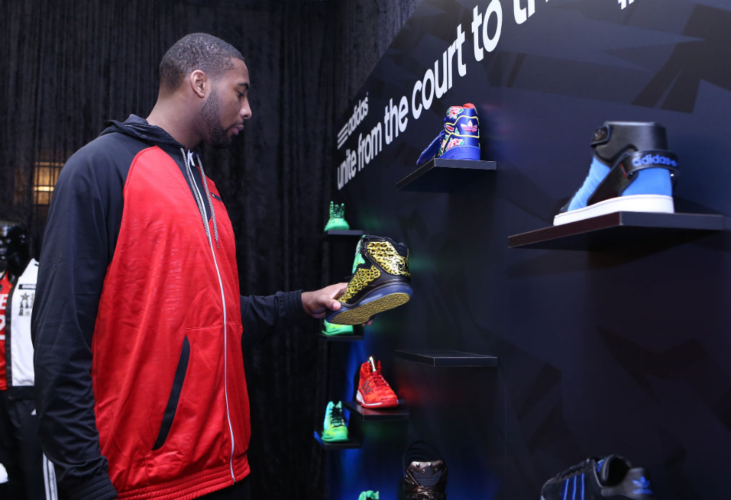 adidas Basketball Athletes Celebrate NBA All-Star // Andre Drummond (1)