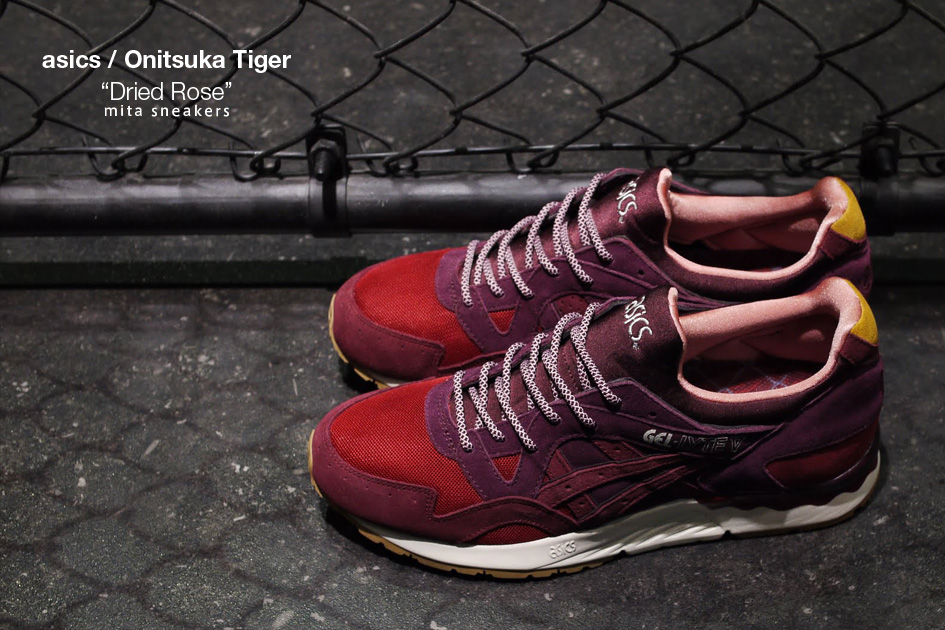 Mita Sneakers jumps on the popular Asics Gel Lyte V silhouette for the