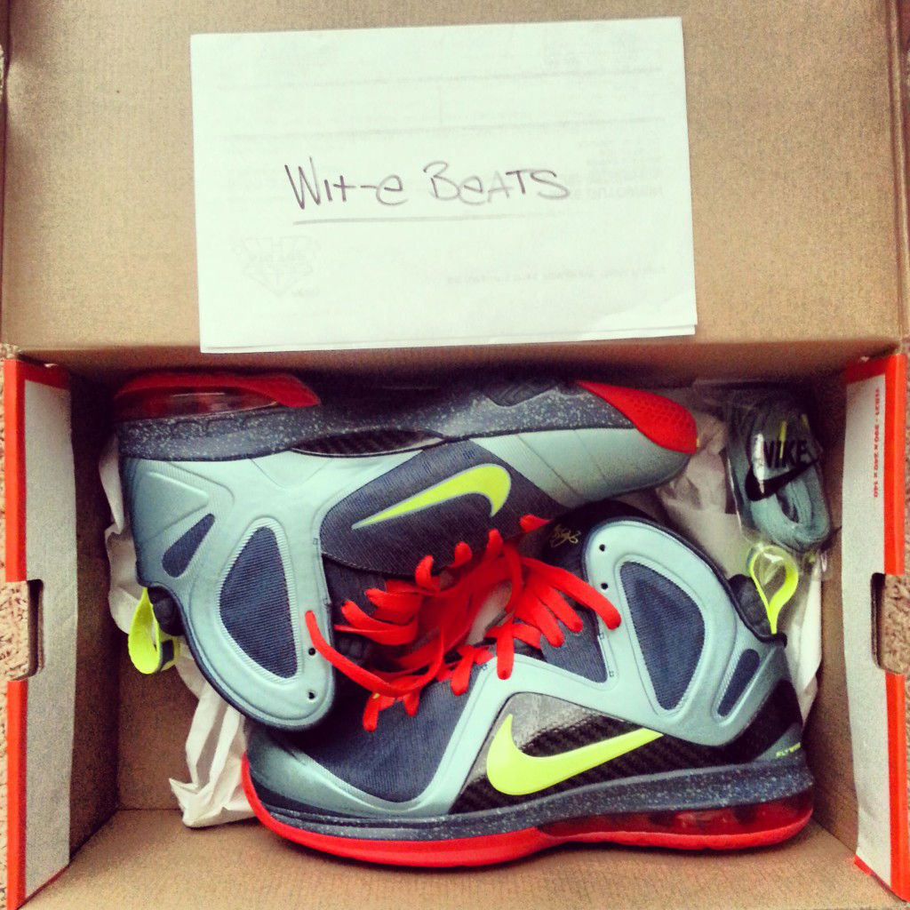 Spotlight // Pickups of the Week 5.12.13 - Nike LeBron 9 PS Elite Cannon by Wit-E Beats