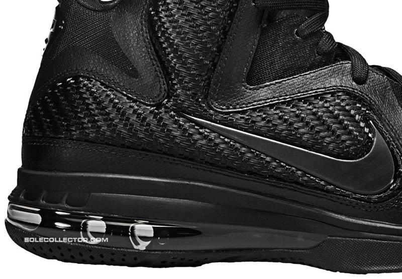 e4f2dc6472f Nike LeBron 9 IX Blackout Black Anthracite 469764-001 D