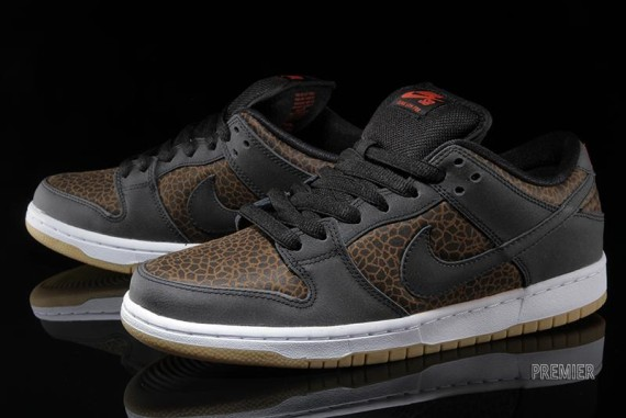 online store cbe0c 6abb1 The  Giraffe  Nike SB Dunk Low is now available at select retailers such as  Premier.