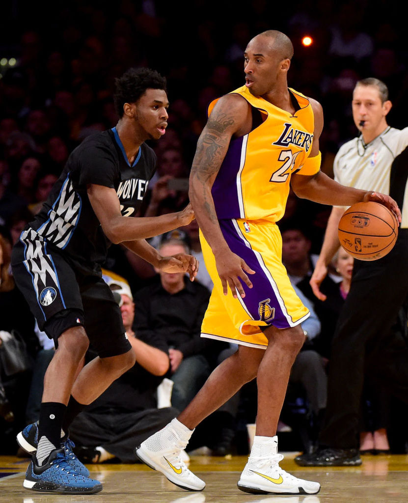 a097109d139 SoleWatch  Kobe Bryant Had Two Pairs of Nikes for Opening Night ...