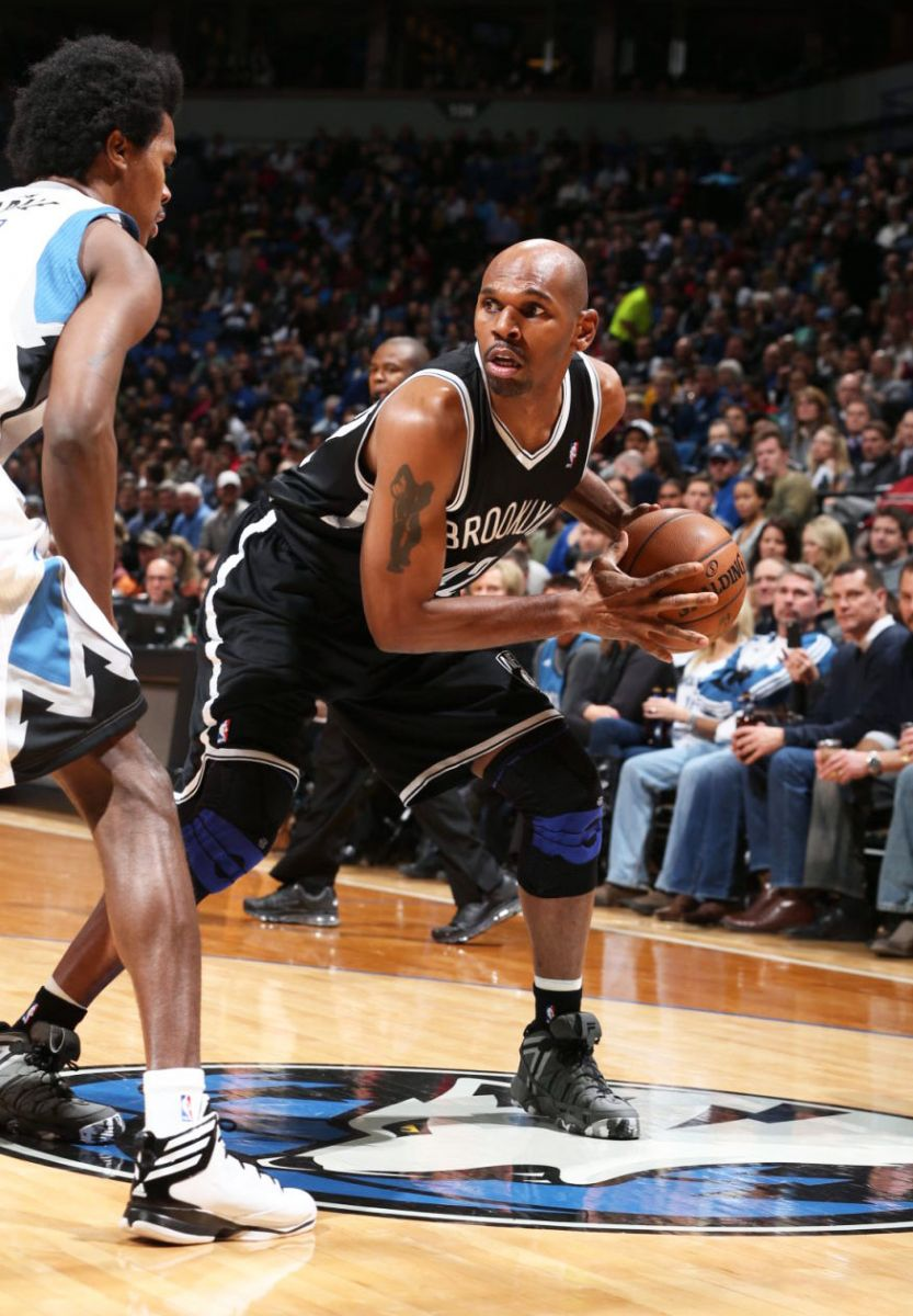 "NBA Sneaker Watch Jerry Stackhouse Wears ""Camo"" FILA Stackhouse"
