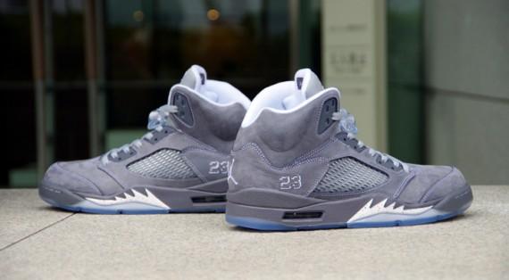 Closer Look: Air Jordan Retro 5 - 'Wolf