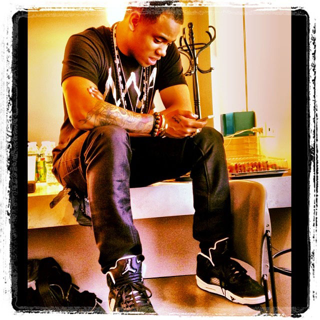 Mack Wilds wearing Air Jordan 5 Oreo