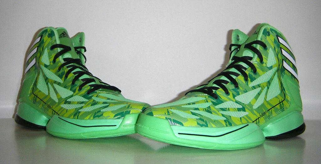 Adidas adizero Crazy Light Neon verde Camo