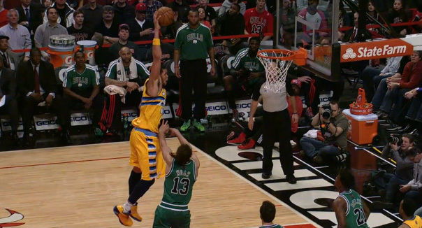 The Season // Top 10 Dunks - JaVale McGee's Throw In