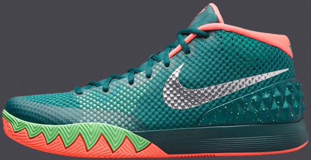 Nike Kyrie 1 Dark Emerald/Metallic Silver-Emerald Green