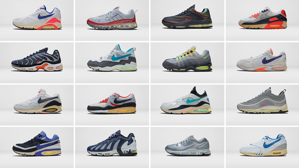 nike air max models all