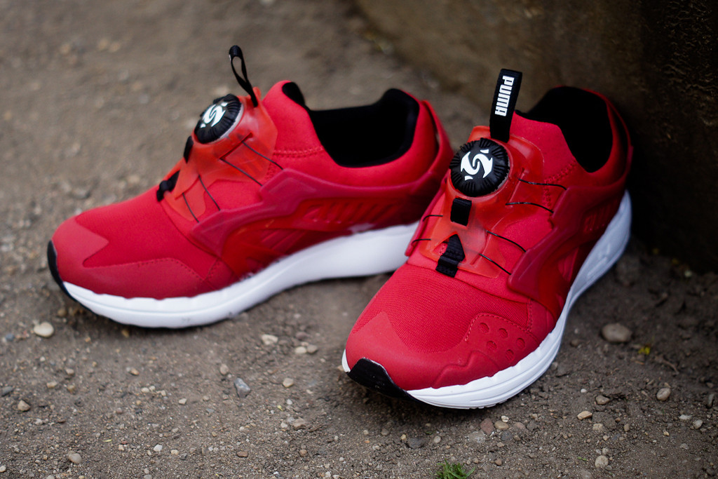 puma future disc blaze red