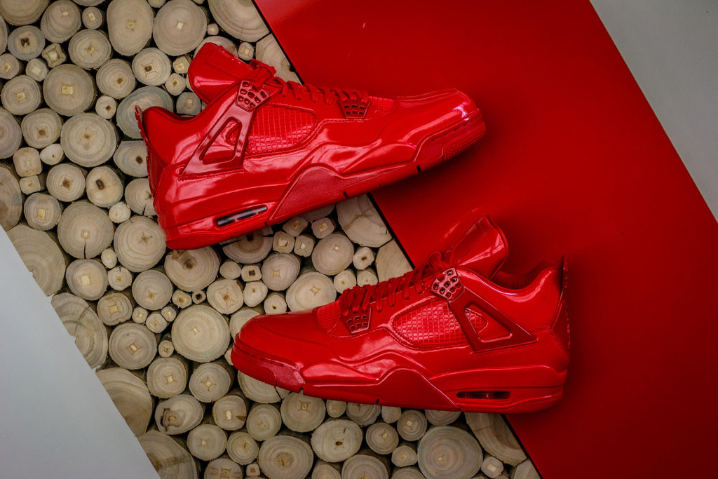 Air Jordan 11Lab4 Red 719864-600 (5)