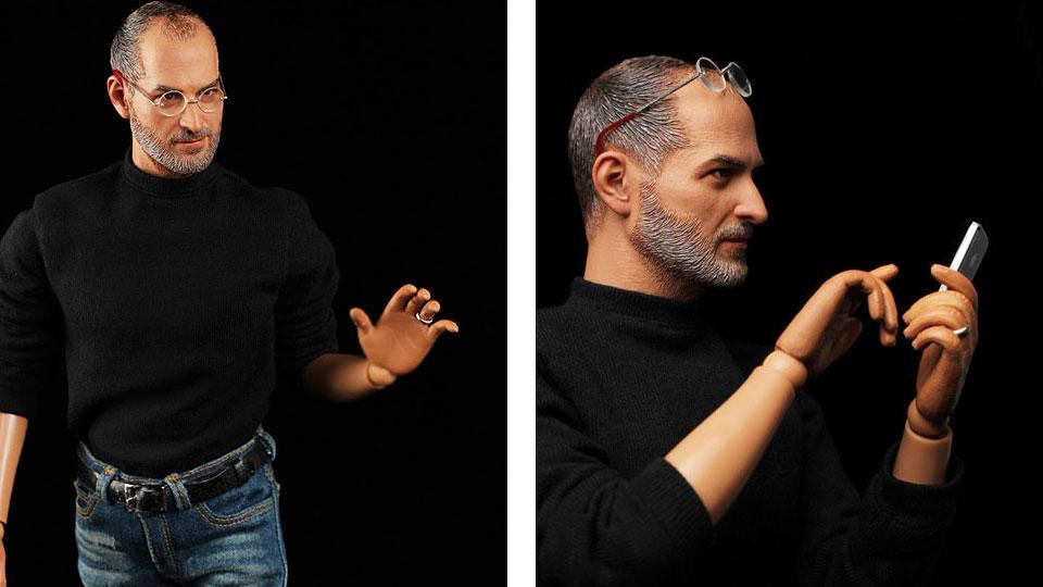 Steve Jobs Action Figure New Balance Shoes (1)
