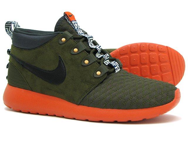 Nike Roshe Run Mid Winter - Dark Olive